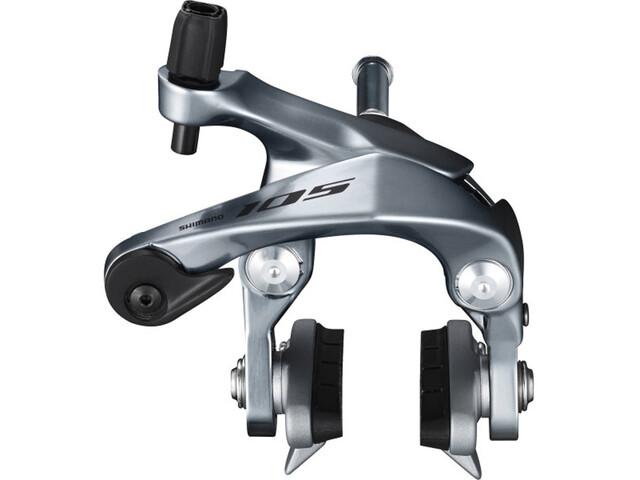 Shimano BR-R7000 Felgenbremse Dual-Pivot Vorderrad CS-51 silber
